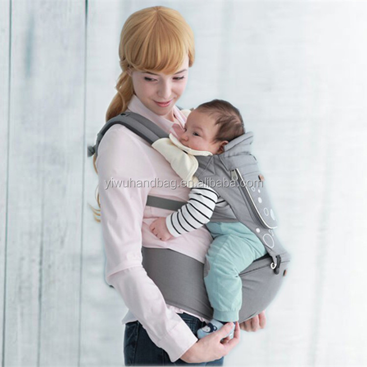 Multifunctional front and back baby carrying product,Ergonomic design kangaroo baby carrier