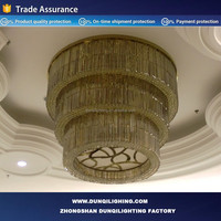 Newest Hotel Desiger recommend tiffany ceiling light