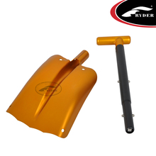 High Quality Lightweight Outdoor Camping Hiking Garden Tools Snow Foldable Plastic Shovel