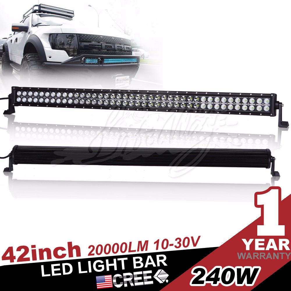 Car Accessory 41.5inch Combo Led Light Bar 240w for 4x4 cars