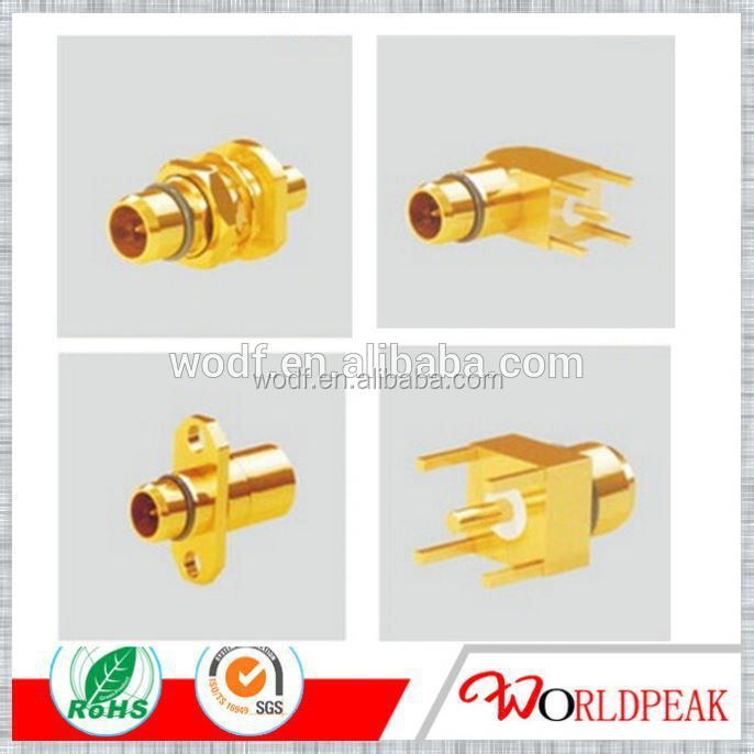 high quality BMA male flange mount coax connector(MCX/SMP/SMA/2.4mm/2.92mm/3.5mm/SMB/BNC/L29/UHF/FME/N/TNC ect.)