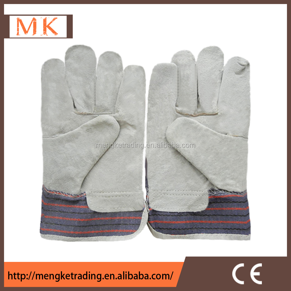 cheap men working leather gloves for mining engineering