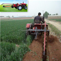 Hot selling farm equipment PTO driven trencher for tractor