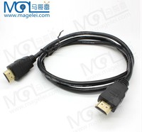 Good quality cheap price black color Gold plated high definition 1.4V HDMI cable