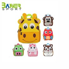 wholesale cartoon animal backpack teen girls school bag