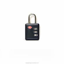 New Safety Luggage 3 Digital TSA Padlock Factory Price travel padlock