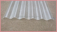 PVC corrugated roof sheet tiles Transparent lighting tile(CT-001)