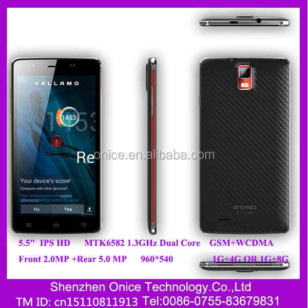 F55 5.5 inch chinese mobile phone MTK 6582 dual -core hong kong cheap price mobile phone 3g wcdma gsm dual sim sma