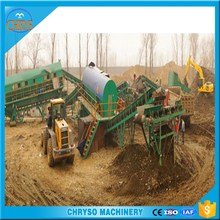 Fully Automatic City garbage recycling machine to energy_Municipal Waste rubbish sorting line
