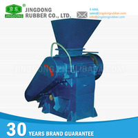 Factory price industrial rubber crusher machine