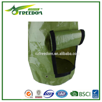 High Quality tree planting plastic bags with carry handles