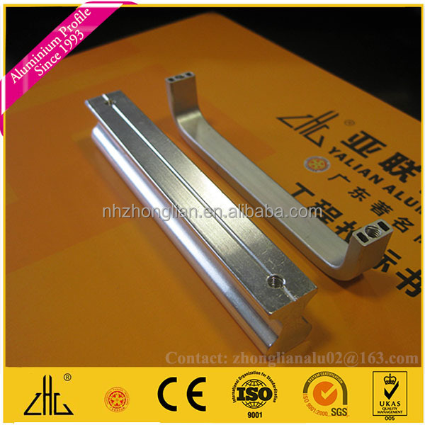 Wow!! aluminum drawer pull OEM/CNC anodized aluminium tube frame manufacturer/CNC aluminiun anodized profiles extrusions factory