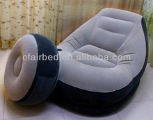 Inflatable Sofa,Fashionable Sofa Chair Made of Flocked PVC