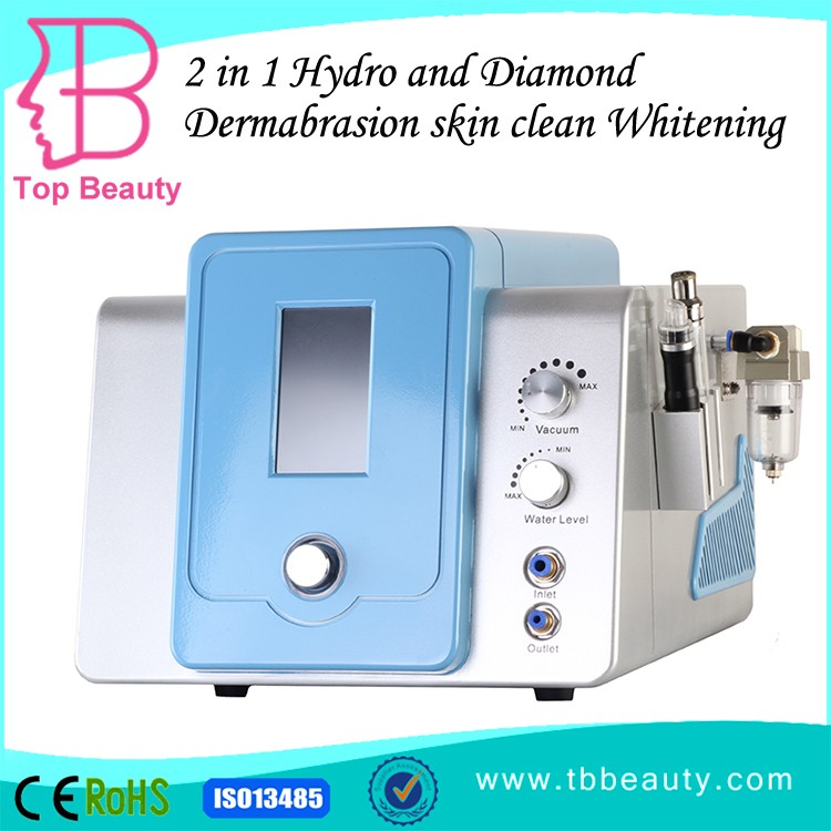 Professional 2 in 1 synthetic diamond microdermabrasion machine