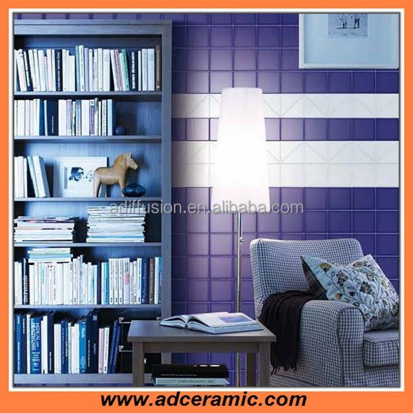 Dark blue bathroom and kitchen ceramic decorative wall tile