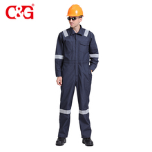 Excellent quality flame retardant insulated fire resistant safety coveralls