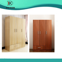 High Quality Wood Bedroom Wardrobe Closet For Hotel