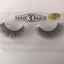 New Style 3D Real Mink Fur Eyelash False Eyelashes