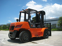 3.5 ton forklift trucks for indoor and outdoor warehouse lifting