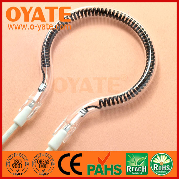 quartz heater tube, small infrared ceramic heating element