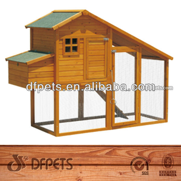 Wooden Pigeon Coop With Nesting Box DFC007