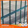 Powder Coated Welded 868mm 656mm Double Wire Fence