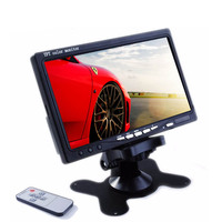 7 inch car tv monitor with usb car pc 7 inch lcd monitor with HD 7 inch rear view mirror car monitor