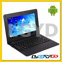 N1001 Black, 10.1 inch Android 4.0 Version Notebook Computer with WIFI and RJ45 Port, 4GB NAND Flash, CPU: VIA WM8850, 1.5GHz