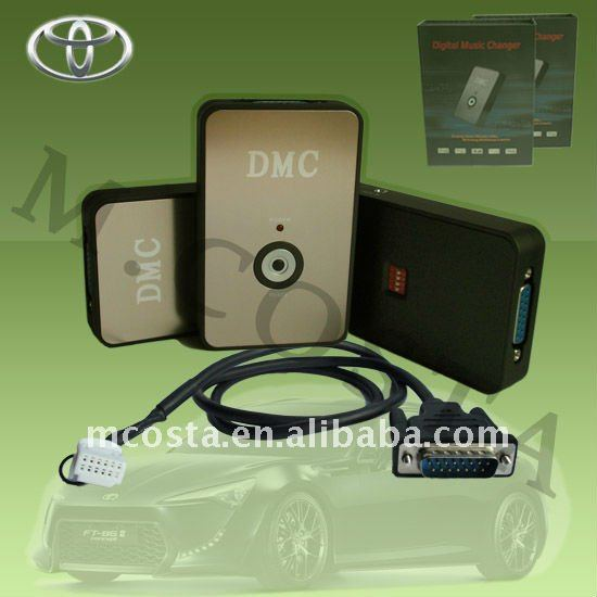 Car cd changer+ MP3 player adapter(CE/FCC/RoHS approved)