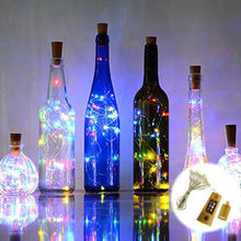 Battery 1M Bottle Cork Shaped LED Decorative Holiday Fairy led string bottle Lights