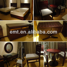 Latest Released Complete Dark Colour Modern Appearance Hotel Decorate Furniture ( EMT-14054)
