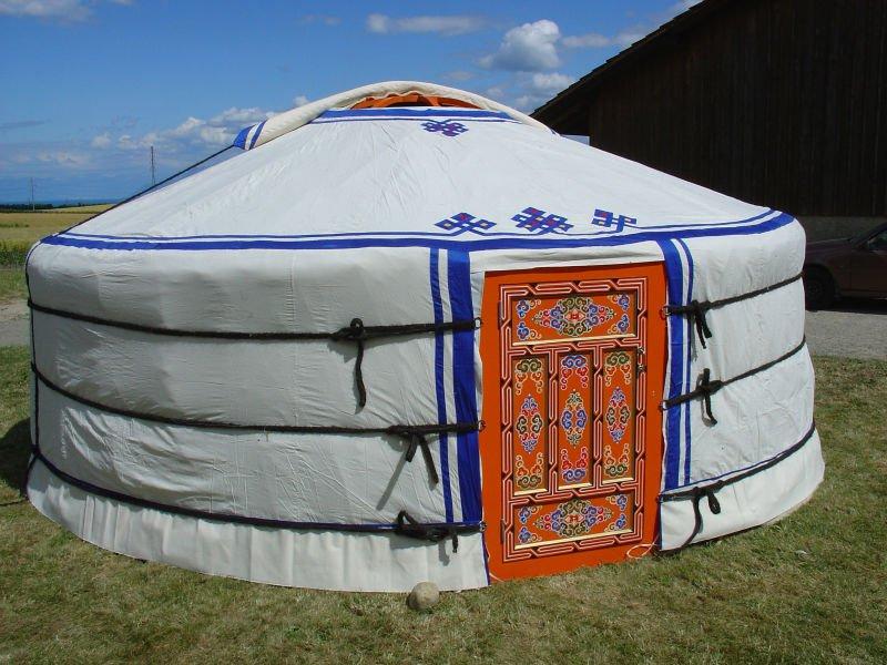 Как сделать монгольскую юрту