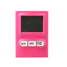 ABS Material Cute Pink Mini Electrical Kitchen Digital Timer