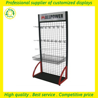 new premium adjustable metal hanging carpet display rack