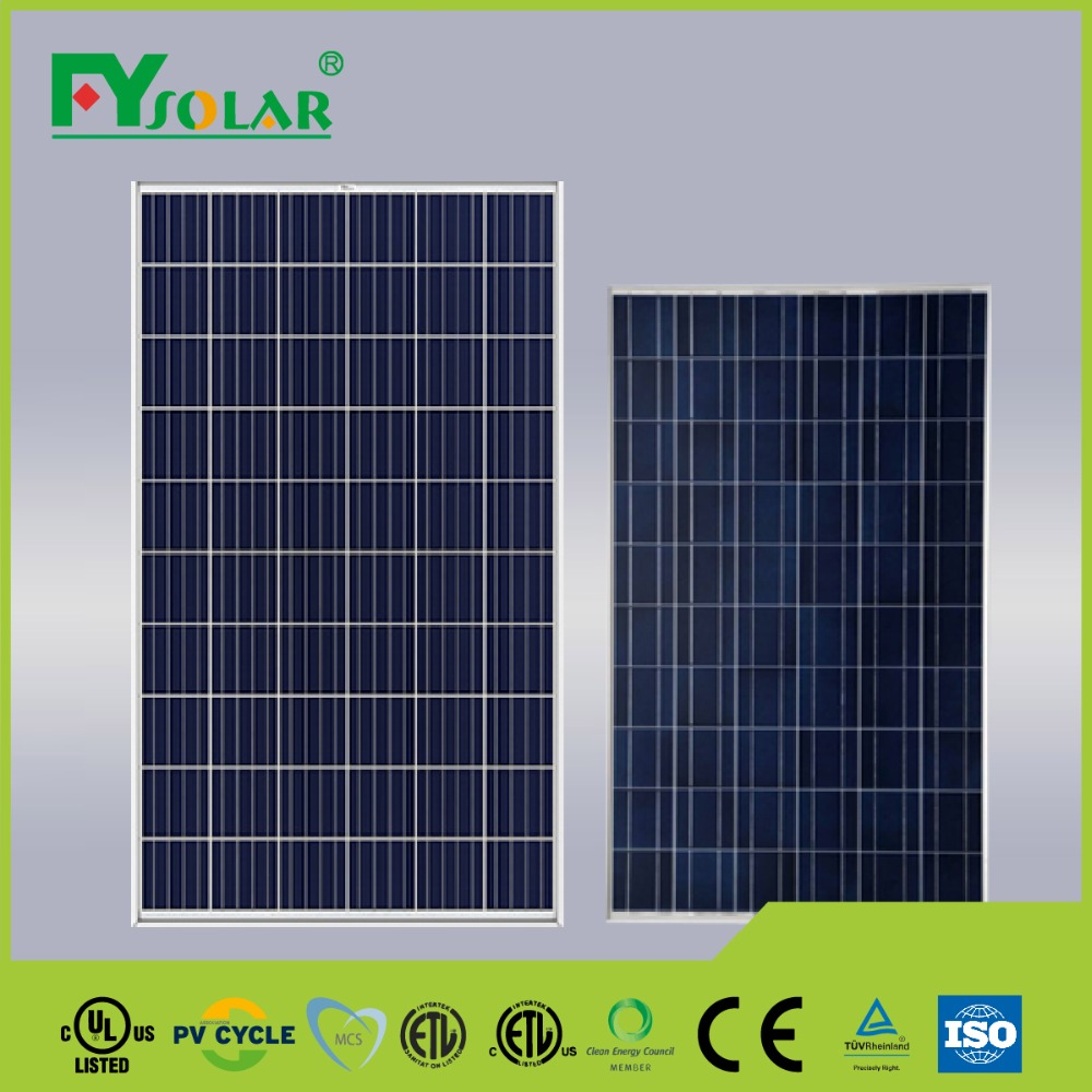 270w solar panel, triple junction solar cell