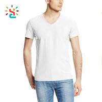 High Quality Fashion Plain Wholesale Bulk Custom Blank T-shirt Clothing