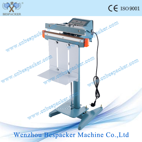 PFS-1000 Aluminum body pedal fabric heat sealing machine