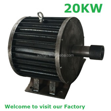 Free energy wind power generator and hydro type 20kw 170rpm 220rpm 300rpm permanent magnet generator low rpm