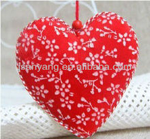 fabric heart/pillow/tree/star hanging decoration