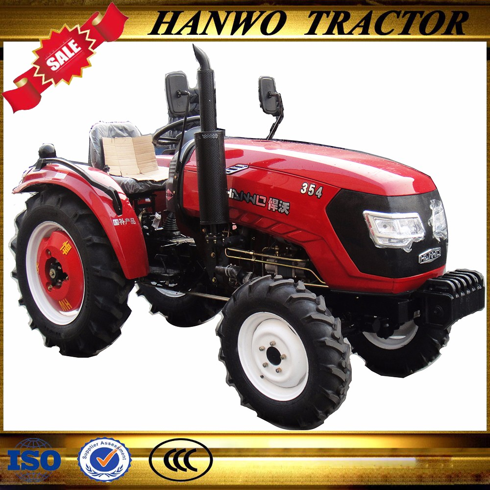 4WD 35hp Small farm machinery tractors in china agricultural machinery belarus tractor