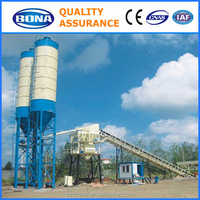 Best ready mix HZS25 concrete batching plant for sale