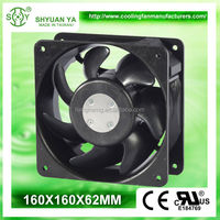 Big Air Flow 230v 60hz Axial 160mm AC Fan