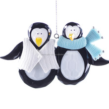 new style christmas decoration penguin brothers ornament