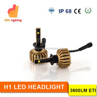 car accessories H1 H3 H4 H7 H11 car led Headlight Kit 12v led head lamp type motorcycle led headlight