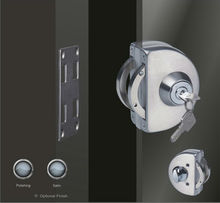 High quality glass door electric strike lock for unbreakable glass door