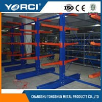 Direct factory pipe/lumber/structure storage cantilever rack with ISO certificates