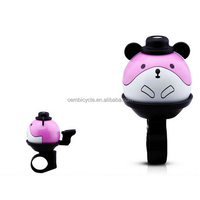 cartoon series cute rat kids bike bell