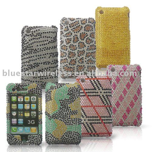 Cell phone diamond bing case for Iphone 3G 3GS