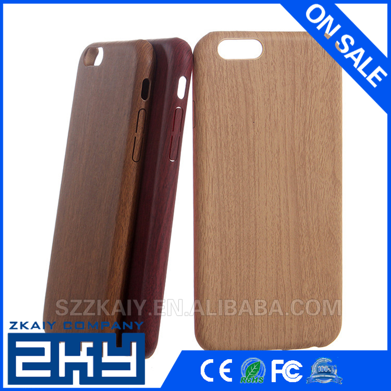 Natural Wood grain Protective Case Unique Soft Shockproof for iphone cases