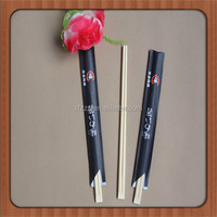 Paper Sleeve Packed Disposable Tensoge Chopstick
